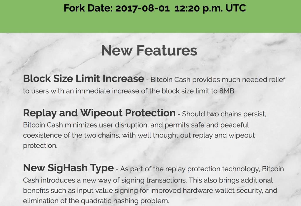 ビットコインキャッシュ公式情報