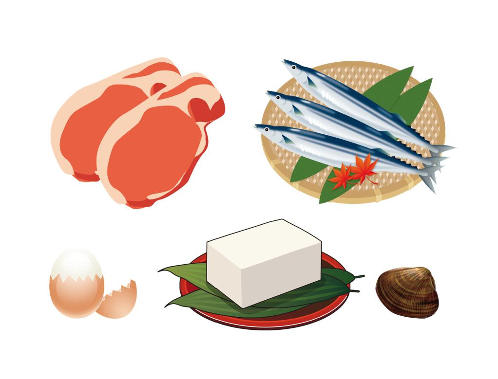 肉・魚介・卵・大豆製品