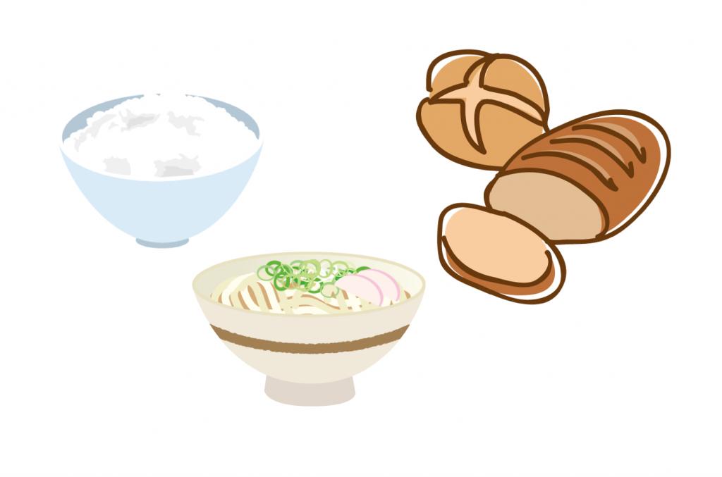 ご飯・パン・麺類