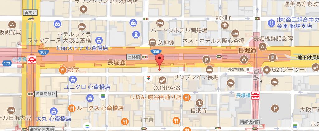 大阪ワークショップ会場地図
