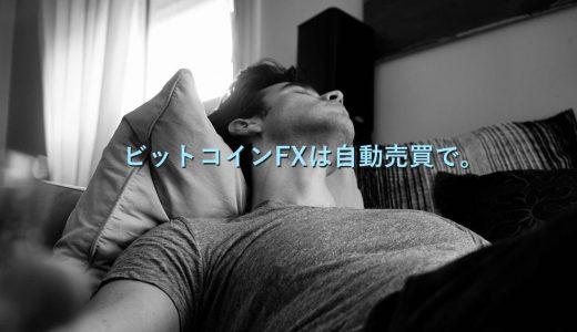 【実例解説】ビットコインFX。暴落時でも自動売買だから爆睡中。