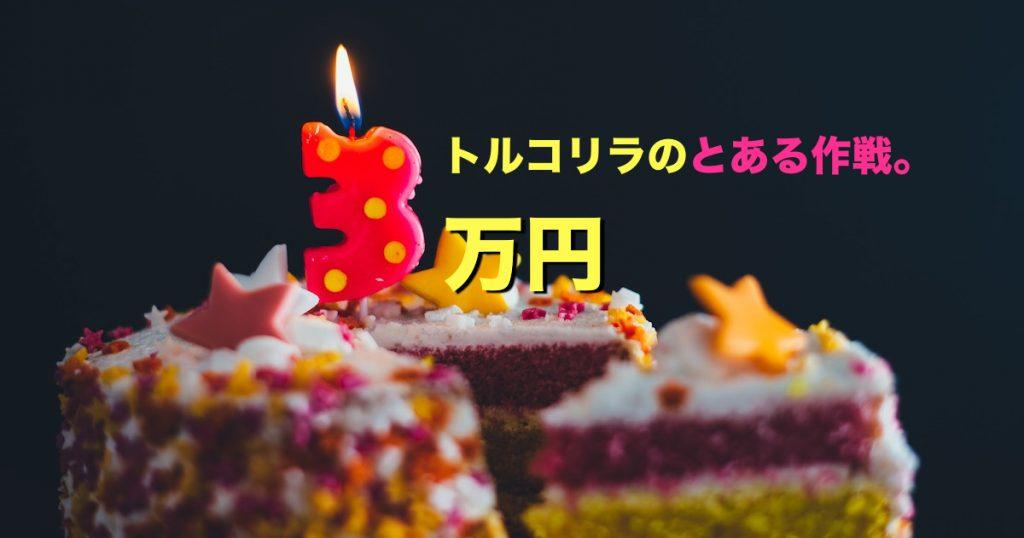 【祝】トルコリラの累計スワップ3万円!再投資作戦を実行!!