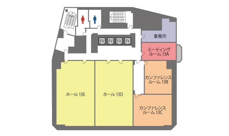 フロアマップ名古屋