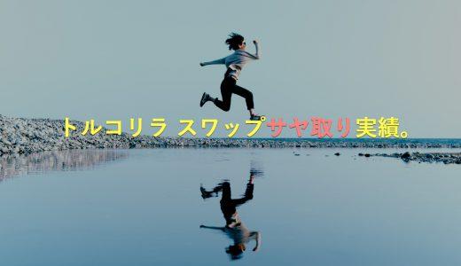 【ブログでサヤ取り実績公開】トルコリラ円のFX積立投資でスワップポイント生活!