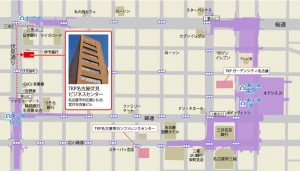 TKP名古屋伏見ビジネスセンターのちず