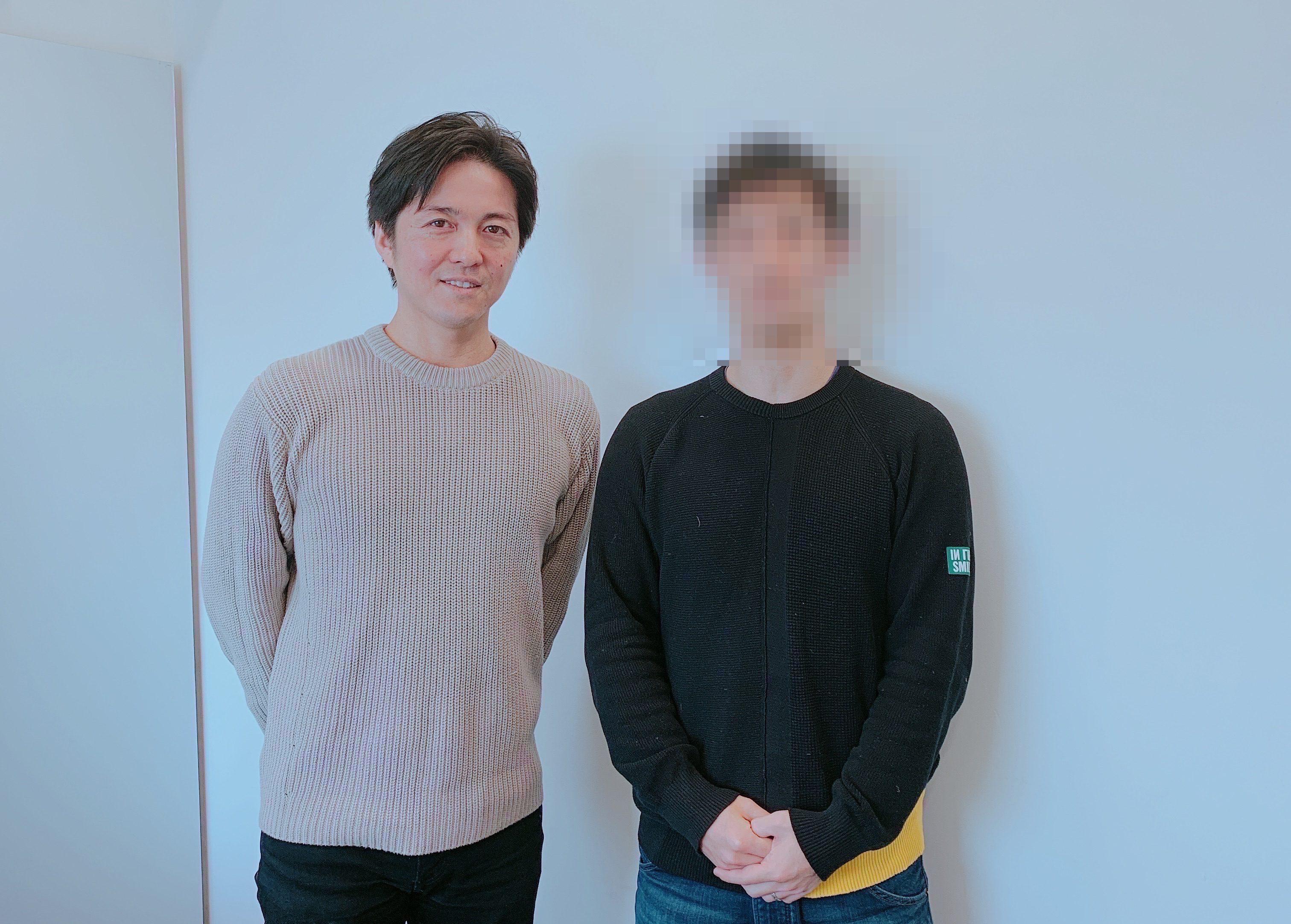 藤田社長とあっきん