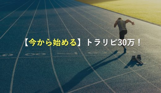【今から始める人向け】トラリピ30万チャレンジのプランを解説!