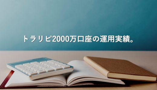 【2015/8〜2019/2】トラリピの2000万口座の運用実績(通貨別も掲載)