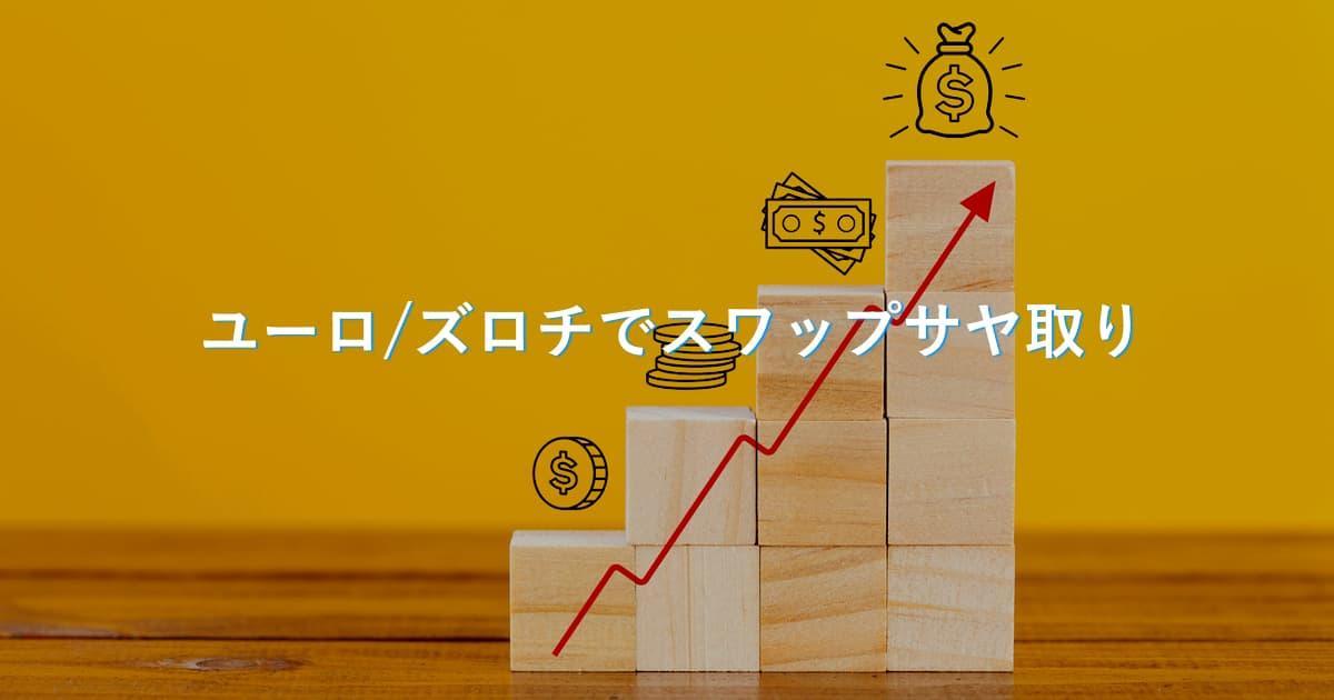【9ヶ月目】FXズロチ円でスワップサヤ取りの実績をブログで公開!始め方も解説。