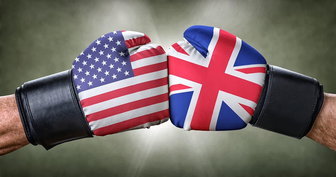 検証方法。イギリス100とS&P500を比較することに。