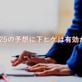 【検証】日経225の予想に下ヒゲは有効か!?2019年のチャートで調べてみた。