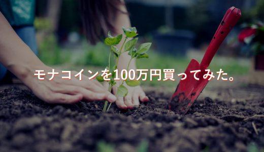 【最強ファンダ】モナコインの半減期はいつ?来るかもしれない急騰相場を狙って100万円買ってみた。