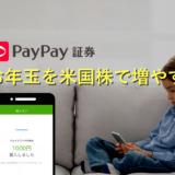 【4年目】PayPay証券でお年玉を全額米国株に。ただいまブログで2人の運用実績を公開中!