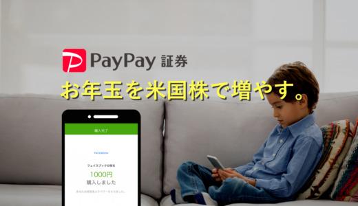 【4年目】PayPay証券でお年玉を全額米国株に。ブログで2人の運用実績を公開中!