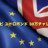 【0日目】トラリピ新通貨ユーロポンドで30万チャレンジ!設定と運用実績をブログで公開!