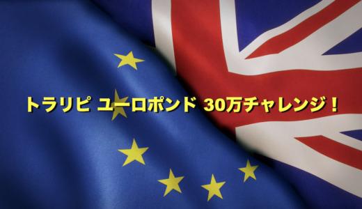 【138日目】トラリピ新通貨ユーロポンドで30万チャレンジ!設定と運用実績をブログで公開!